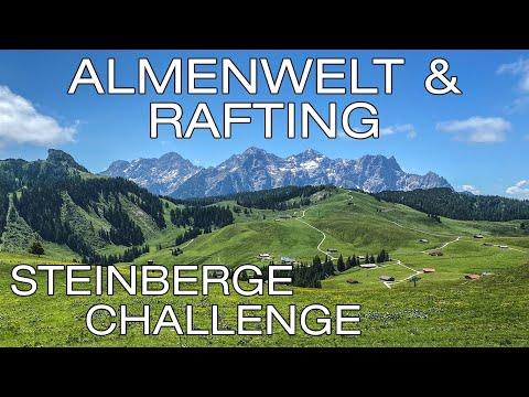 Mountainbike Almenwelt Lofer & Rafting Saalach | Bergsportregion Steinberge // #Steinbergechallenge