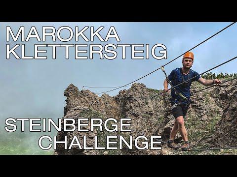 Marokka Klettersteig & Wildseeloderhaus | Bergsportregion Steinberge // #Steinbergechallenge
