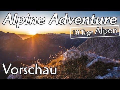 Roadtrip Alpen - 10 Tage durch die Alpen (Alpine Adventure)