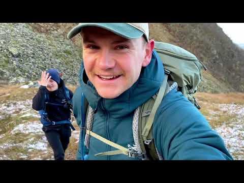 Quarantäne in Norwegen - Wanderung Bergsee