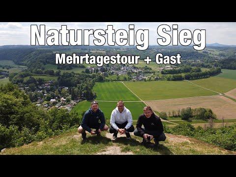 Mehrtagestour Natursteig Sieg - Trekkinglife (Flucht in die Natur + Gast)