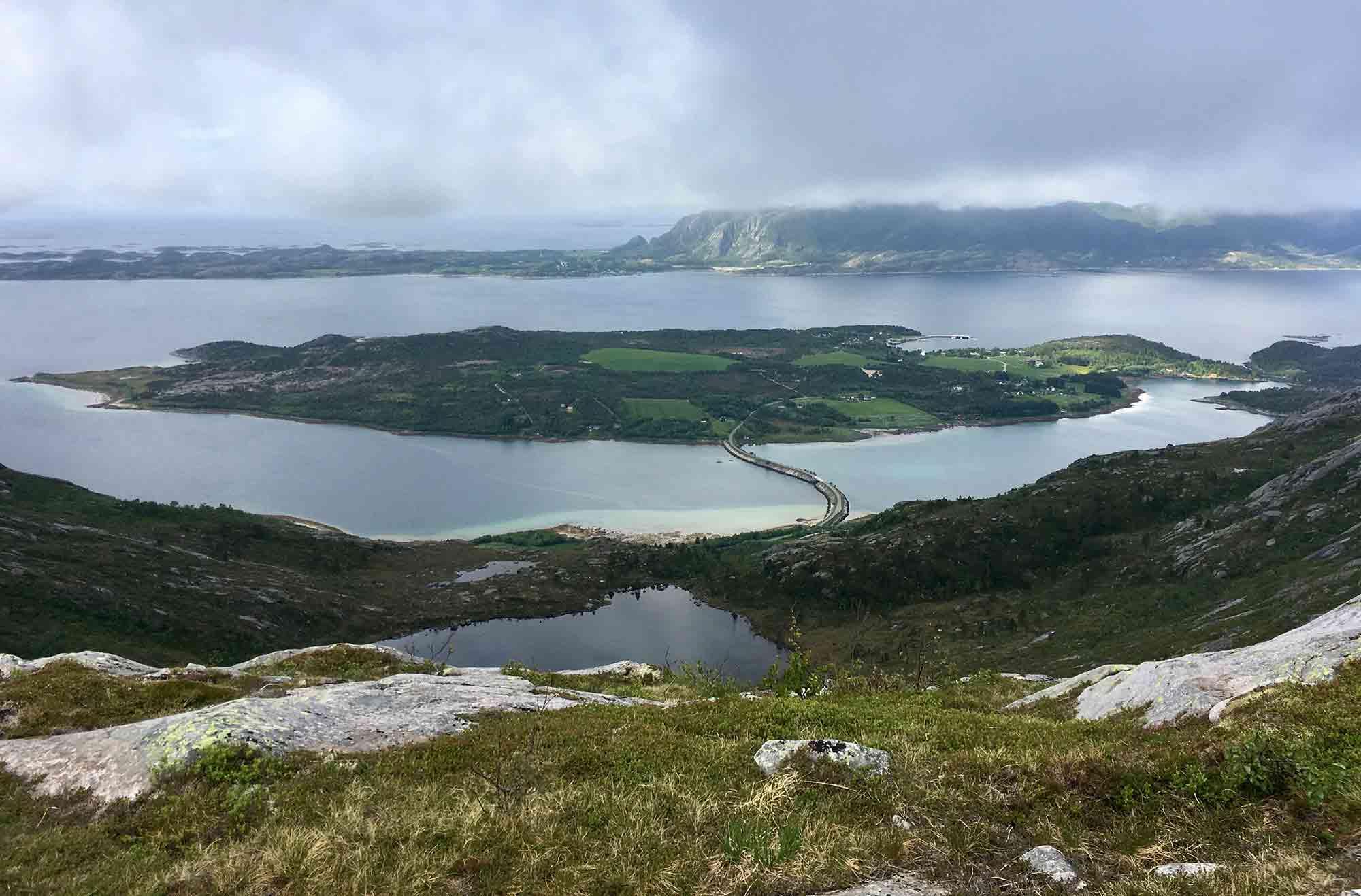 Ausblick-gronøy-lofoten