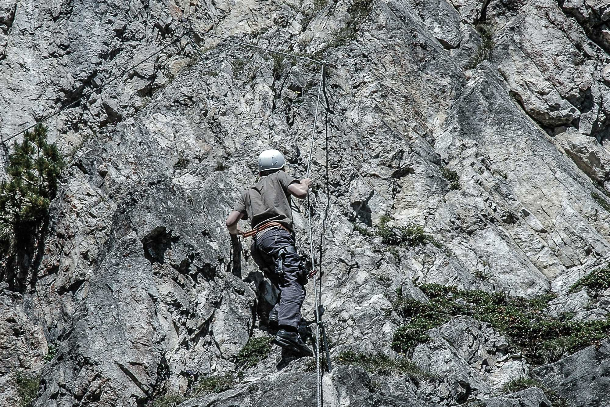 Klettersteigset Tipps : Klettersteig: tipps und tricks trekkinglife back on trekk