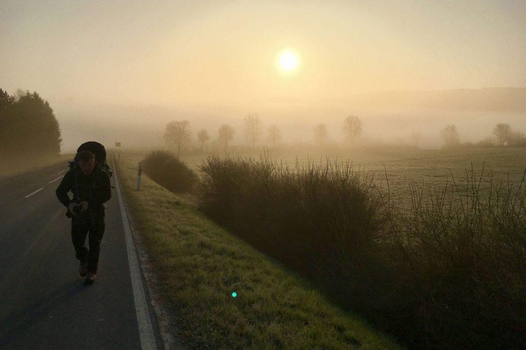 Sonnenaufgang-eifel