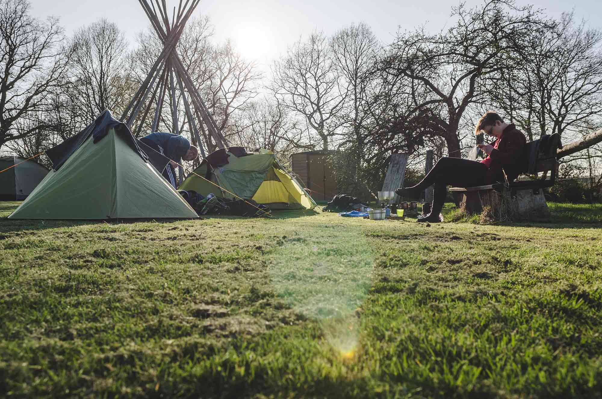 Campingplatz_Roetgen_Froschperspektive Bilder