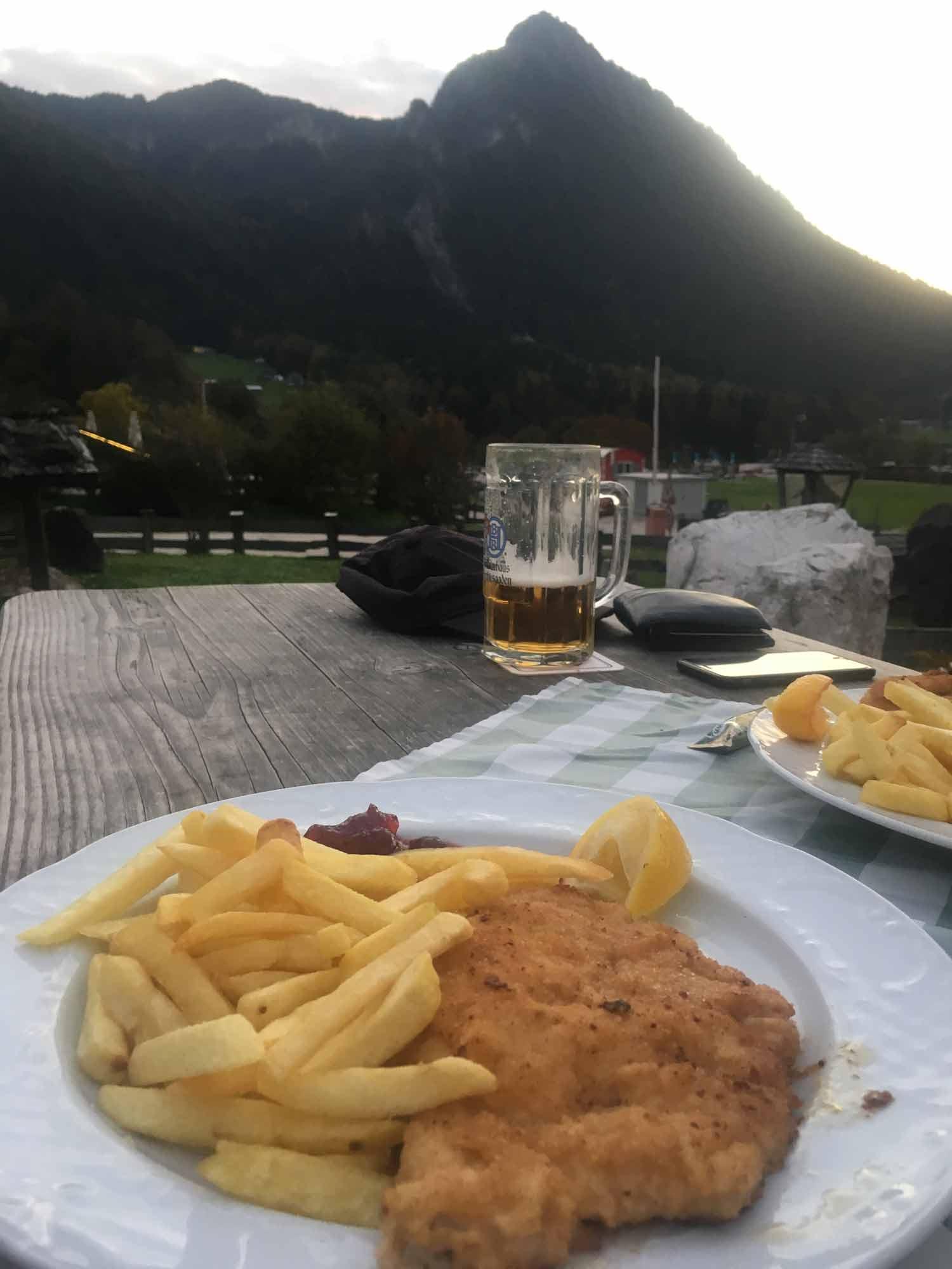Abendessen-Watzmannhaus