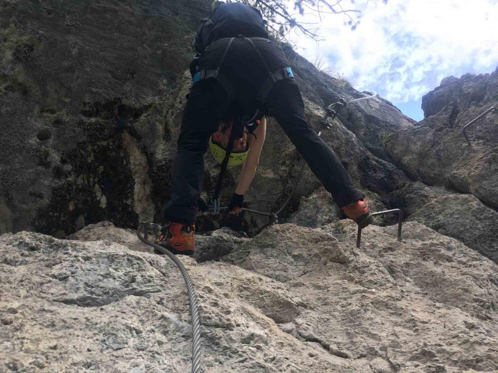 Grünstein Klettersteig - Thomas