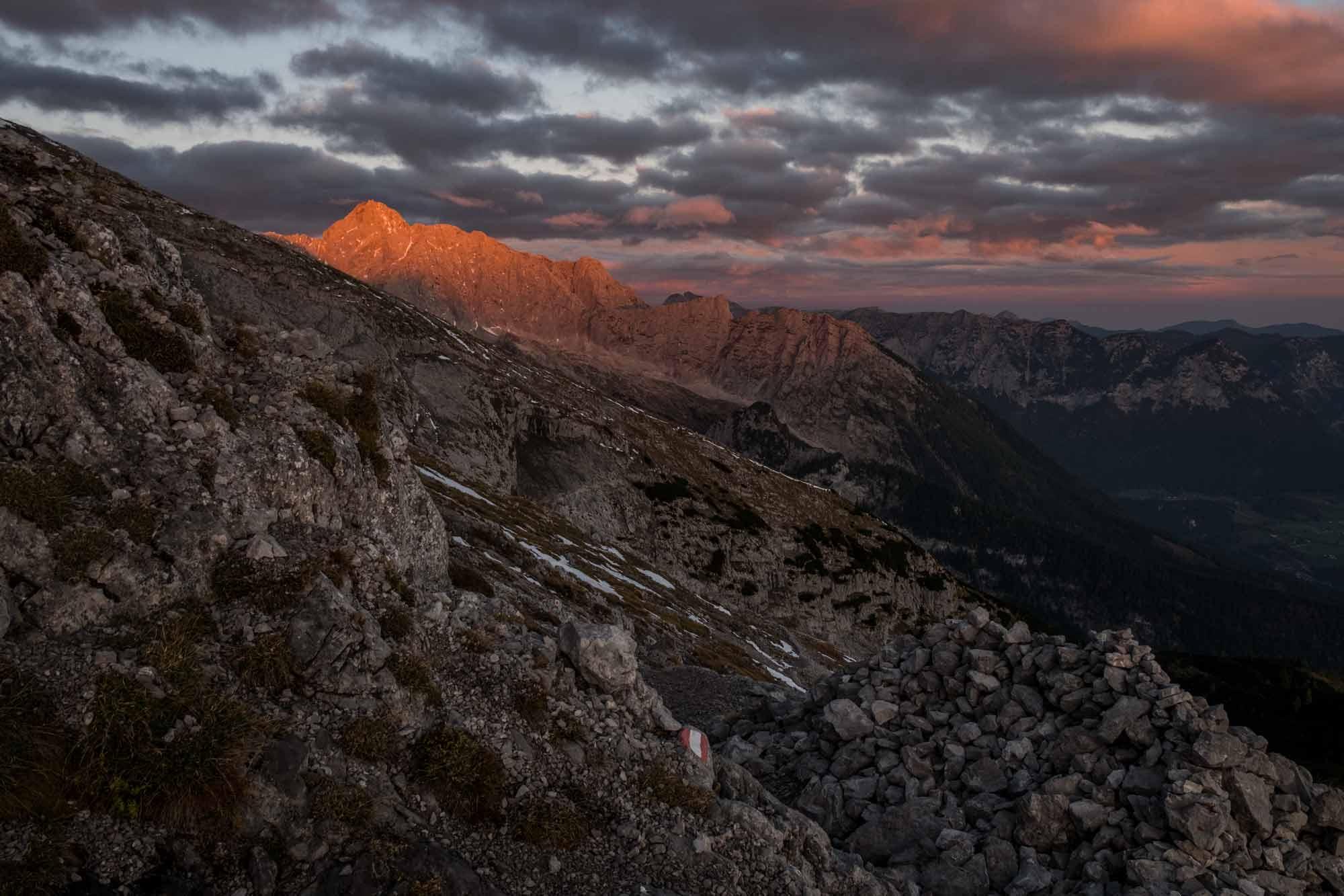 Hochkalter-Sonnenaufgang-Watzmann