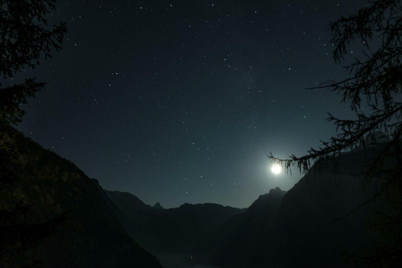 Pausentag und Sternenhimmel an der Rabenwand 7