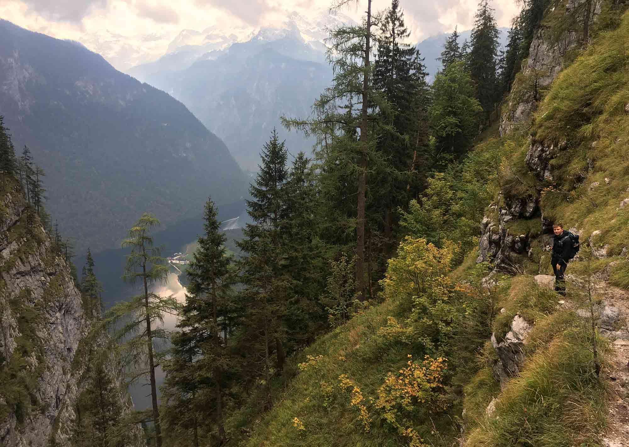Rinkkendlsteig_Abstieg