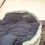 Wandern im Winter mit Schlafsack - Zelten Daunenschlafsack - Winterwandern