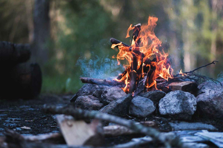 Feuer in Schweden