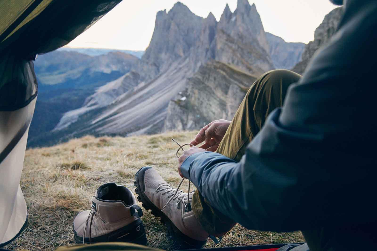 ON Cloudrock Waterproof Bergschuh f/ür Herren