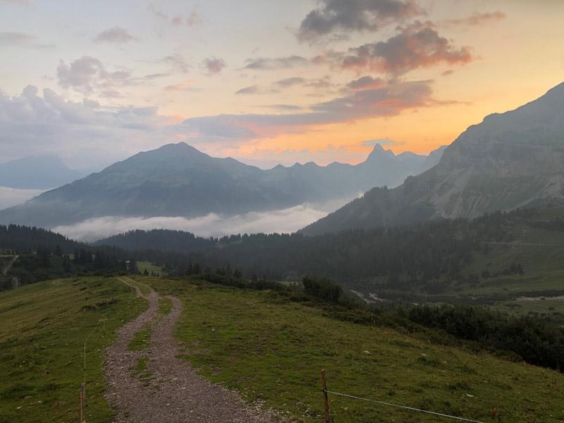 Wanderung über den Lünersee zur Schesaplanahütte (Graubünden - Etappe 3) 17