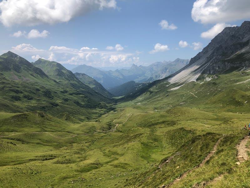 Wanderung über den Lünersee zur Schesaplanahütte (Graubünden - Etappe 3) 15
