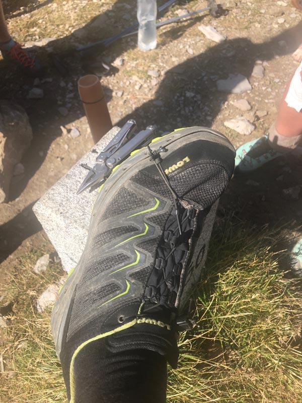 Schesaplanahütte - Älplibahn Malans (Graubünden - Etappe 4) 11