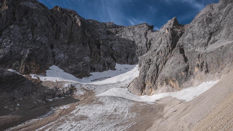 Alpen Deutschland Blick auf die Zugspitze