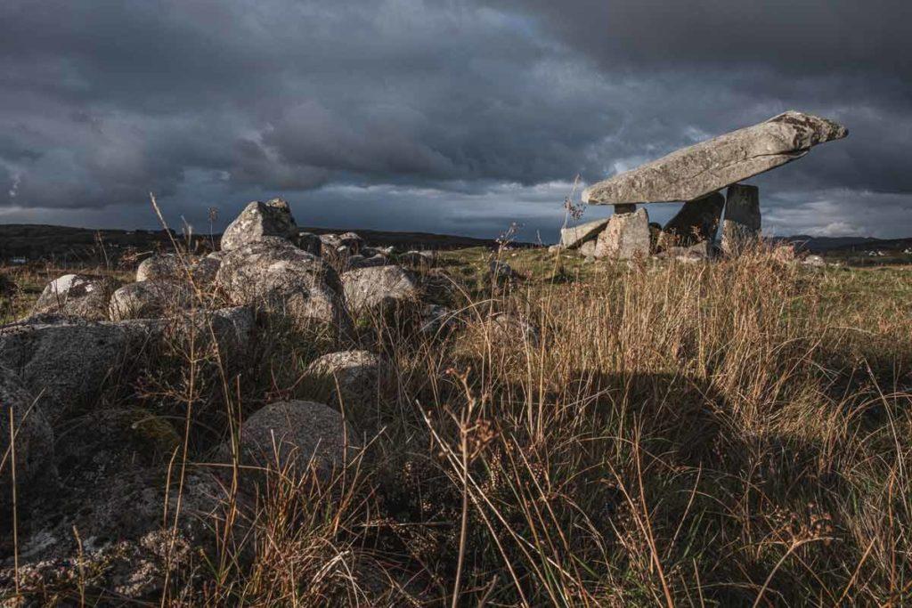 Donegal Irland - Dolmen Sehenswürdigkeit