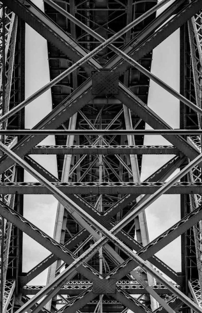 Porto Sehenswürdigkeiten - Ponte Dom Luis - Brücke in Porto