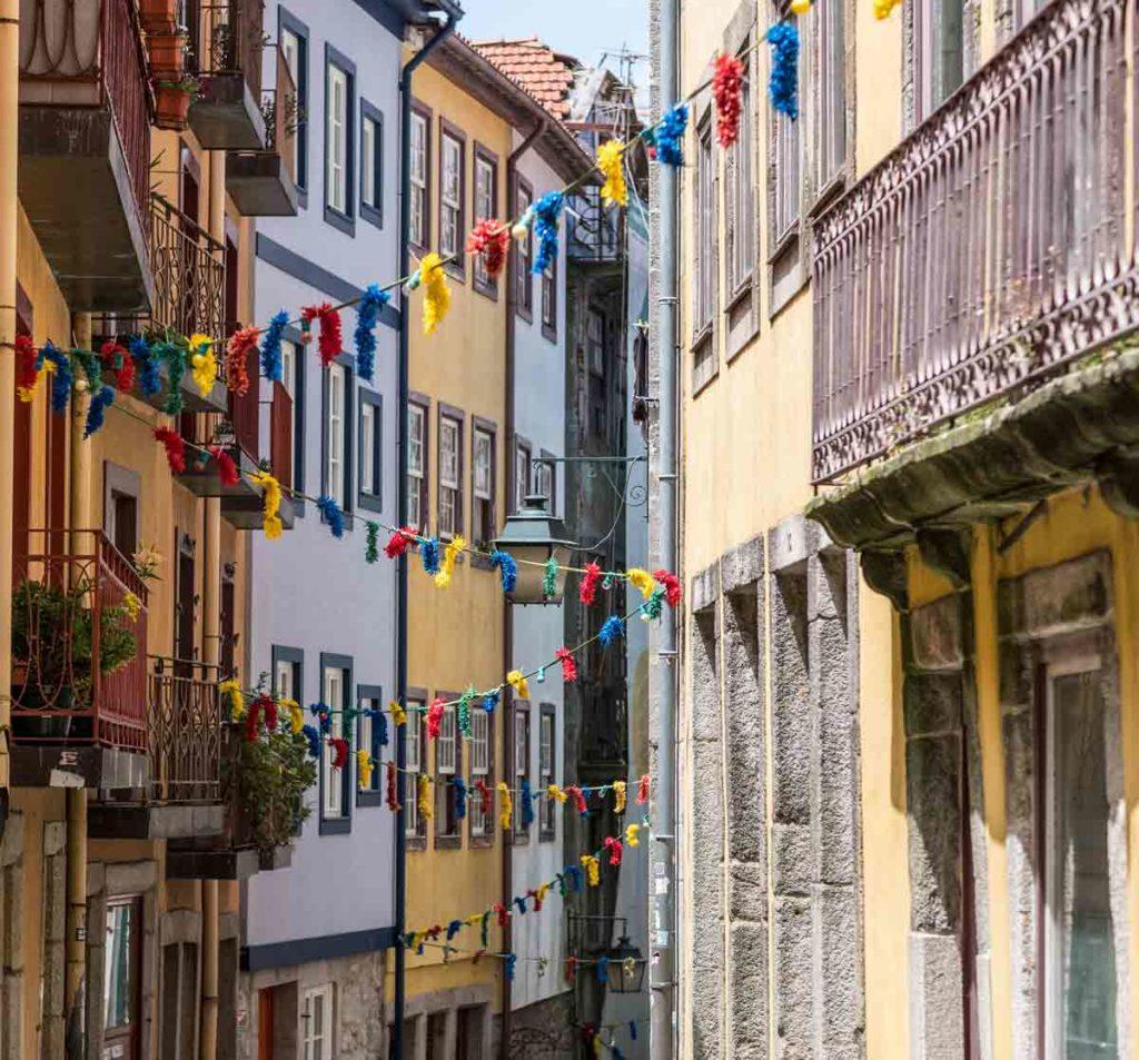 Porto typische Gasse - Porto in 24 Stunden