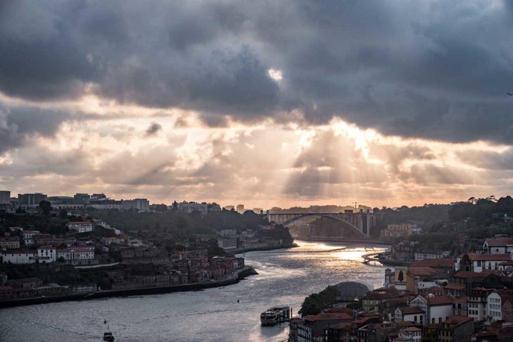 Porto in 24 Stunden - Sonnenuntergang in Porto