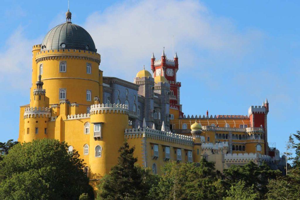 Sintra Palacio Nacional de Pena