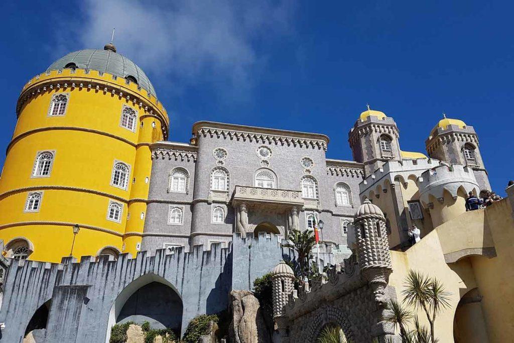 Sintra Palast - Sehenswürdigkeiten - Palacio Nacional de Pena
