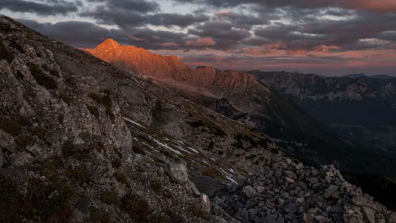 Sonnenaufgang im Nationalpark Berchtesgaden - die schönsten Wanderungen der Alpen