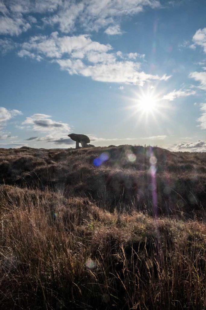 Dolmen in Irland Kilclooney - Donegal Sehenswürdigkeiten