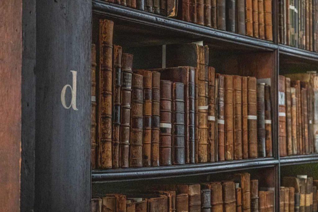 dublin-sehenswuerdigkeiten-bibliothek-trinity-buecher