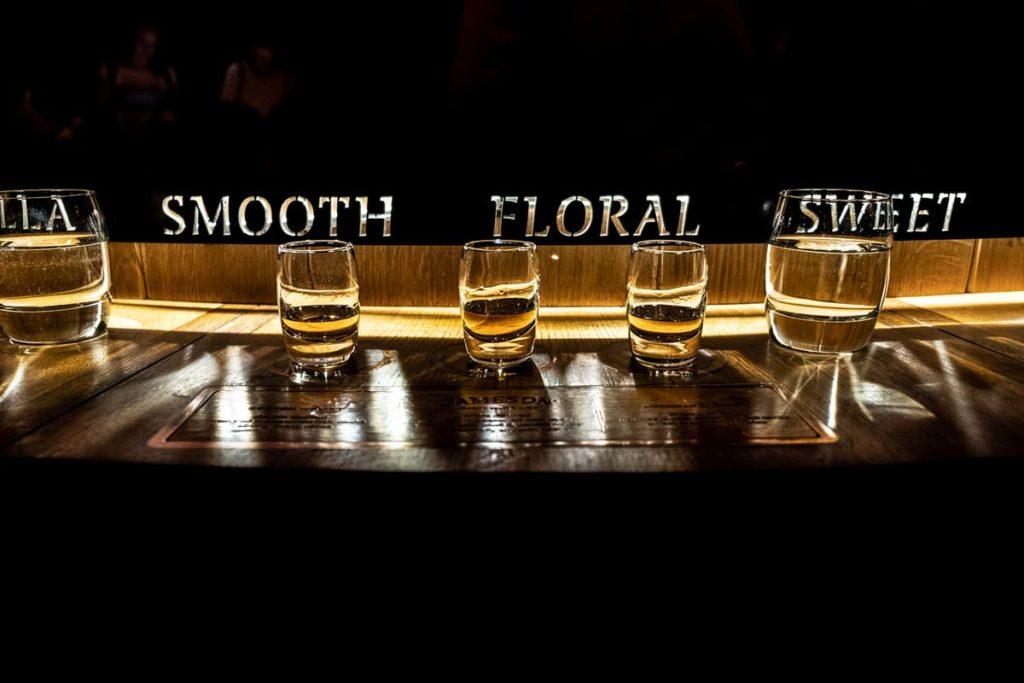 Dublin Sehenswürdigkeiten Whisky Tasting Jameson