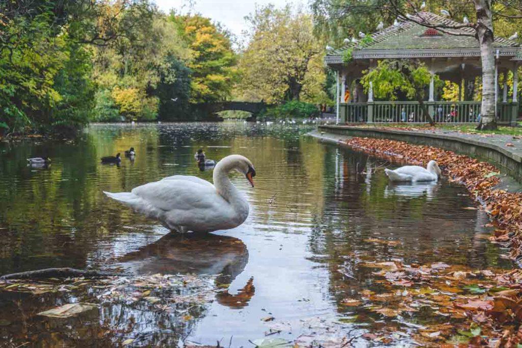 Dublin Sehenswürdigkeiten Park Stephens Green