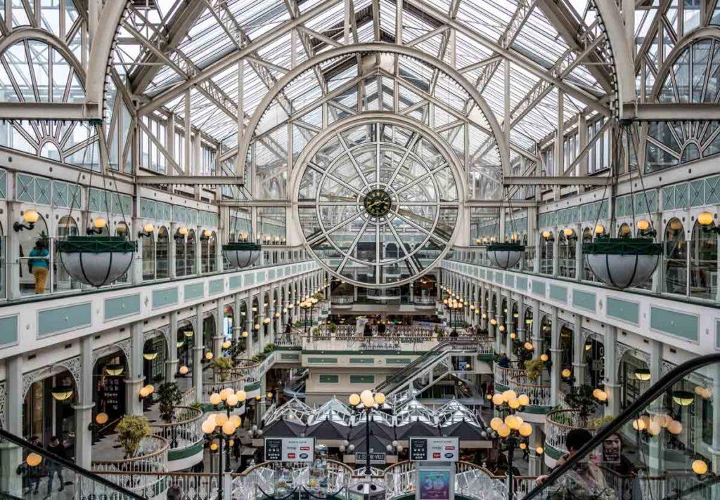 Shopping Centre Stephens Green Dublin Sehenswürdigkeiten