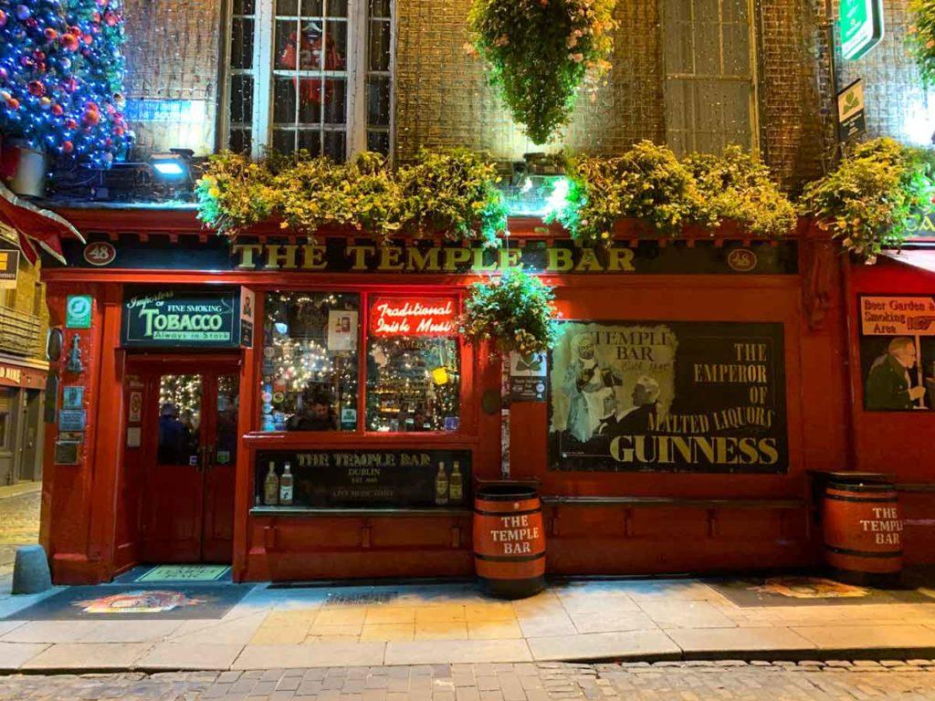 Temple Bar Dublin Sehenswürdigkeiten