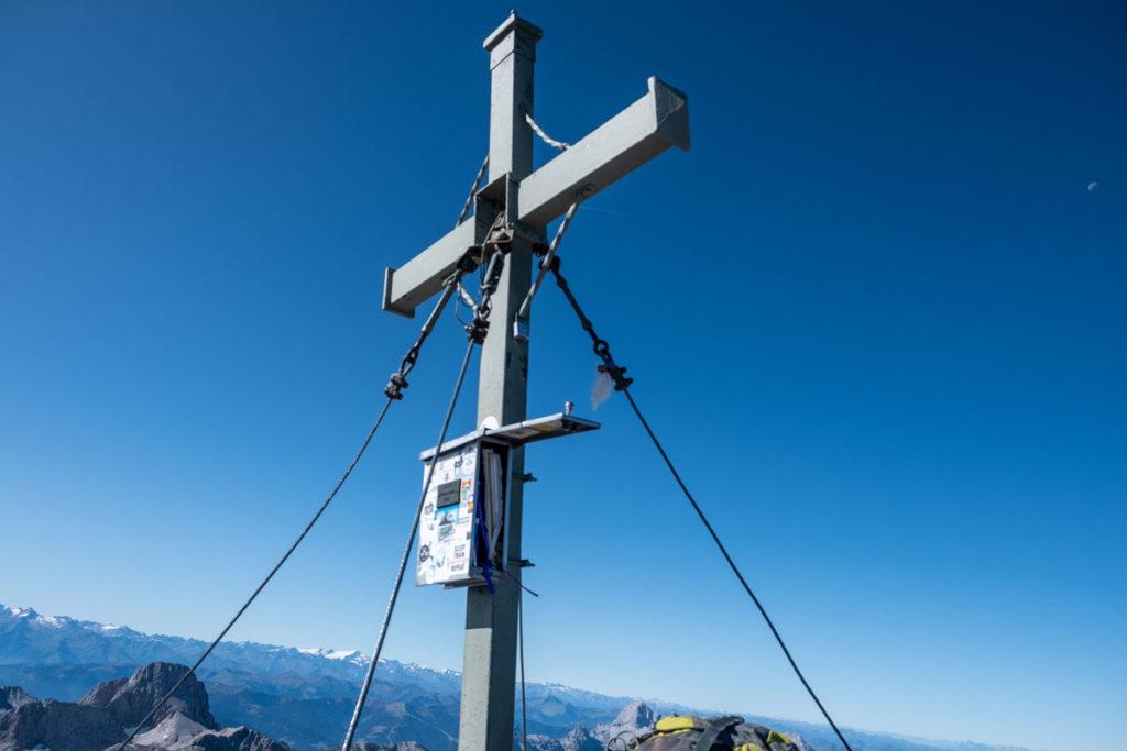 Gipfelkreuz der Watzmann-Südspitze