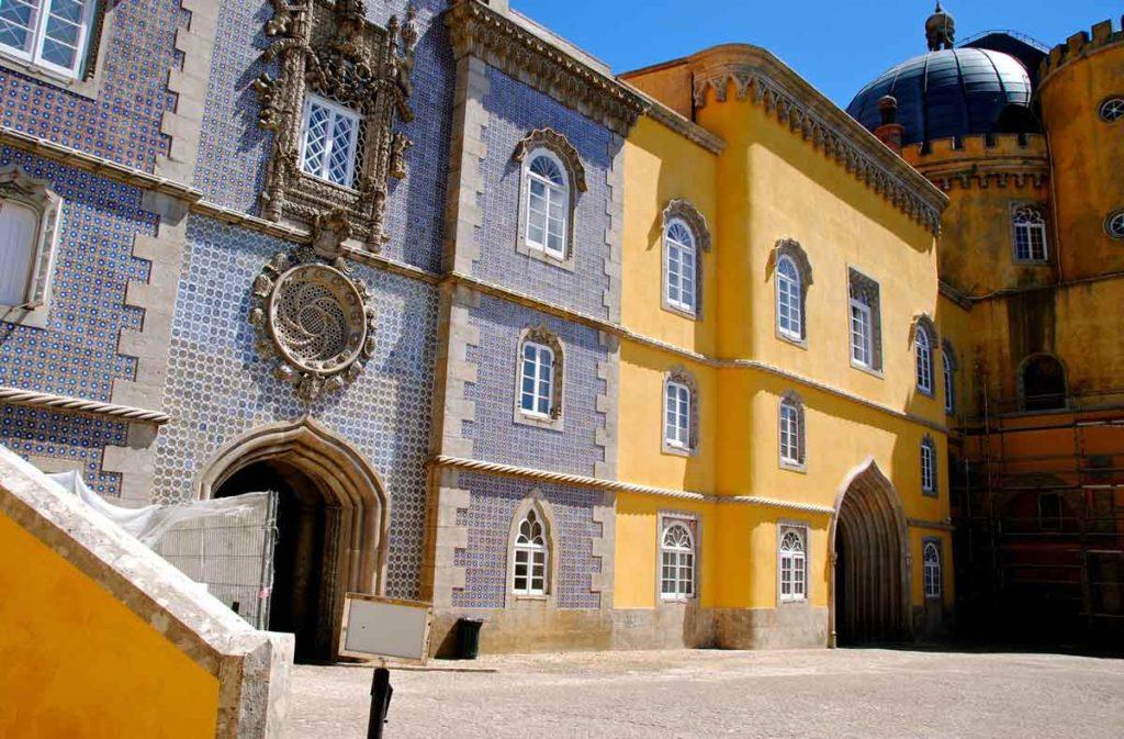 Palacio Nacional de Pena Sintra Sehenswürdigkeiten