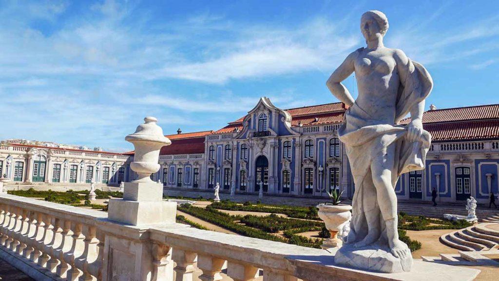 Palacio Nacional de Queluz Sintra Sehensüwrdigkeiten