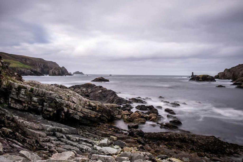 Port Donegal mit Blick auf den Atlantik