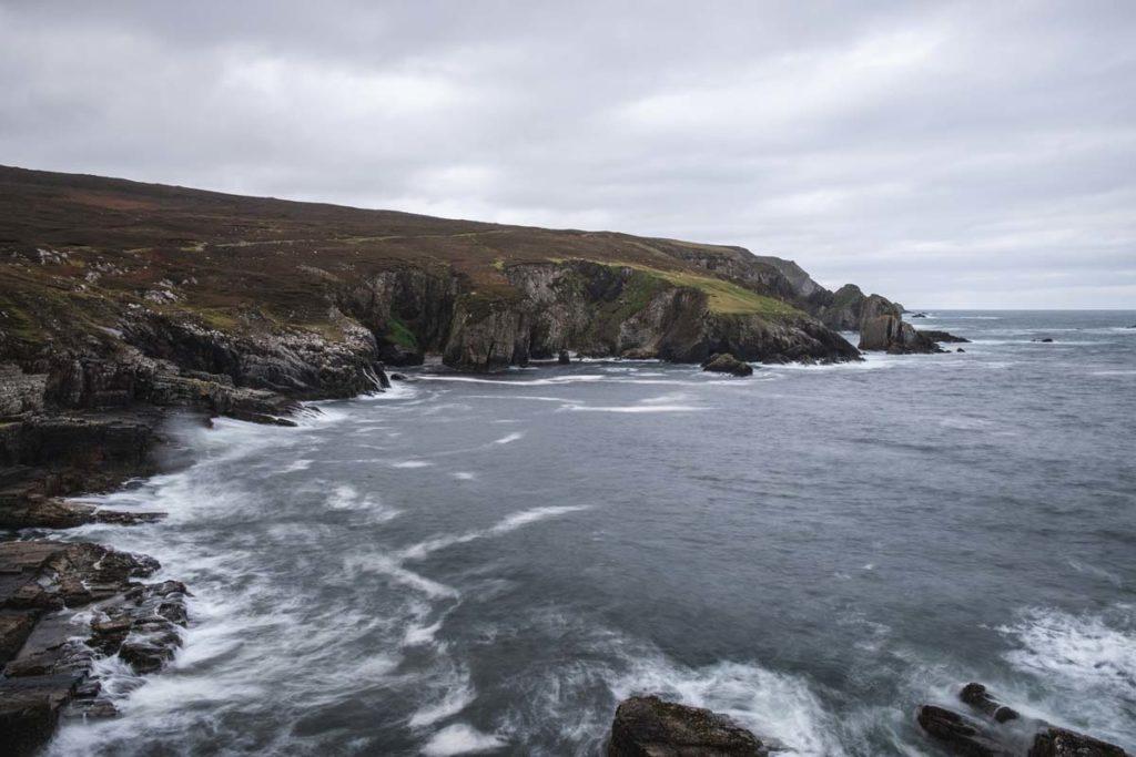 Panorama auf den Atlantik von Port Donegal aus
