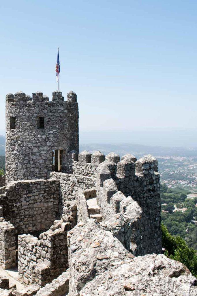 Sintra Sehenswürdigkeiten - die Burg in Sintra - Sehenswürdigkeiten