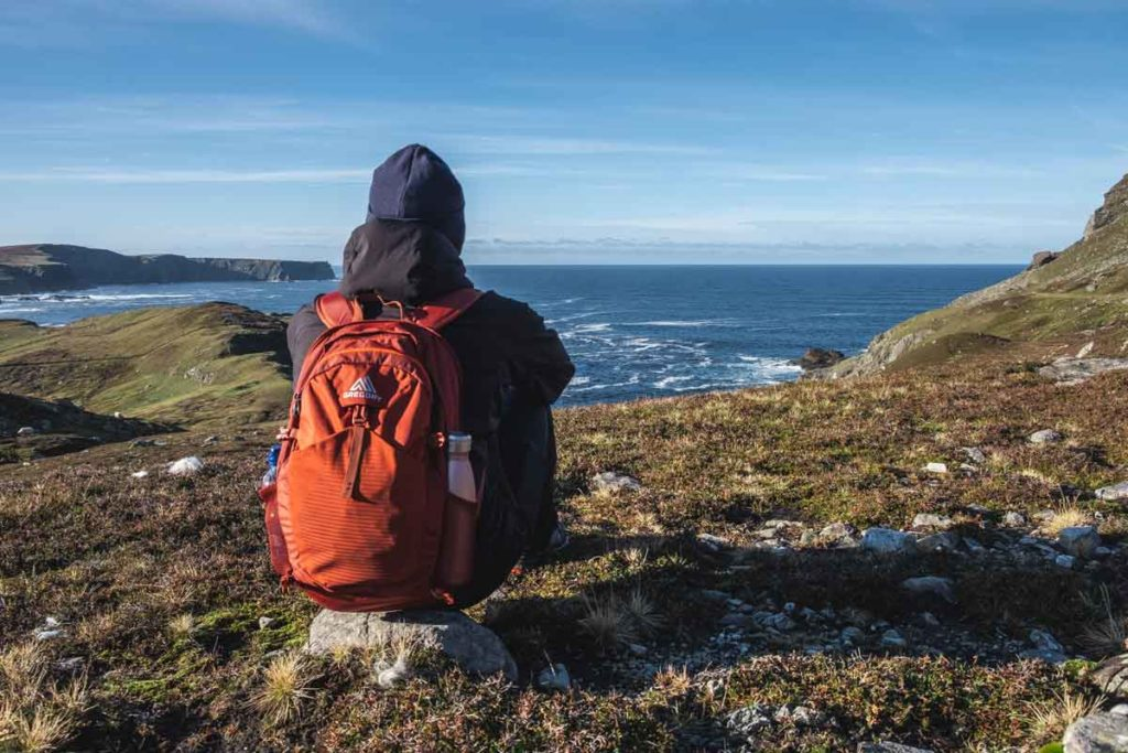 Ausblick auf das Meer bei Glencolumbkille - Gregory Ambassador Thomas