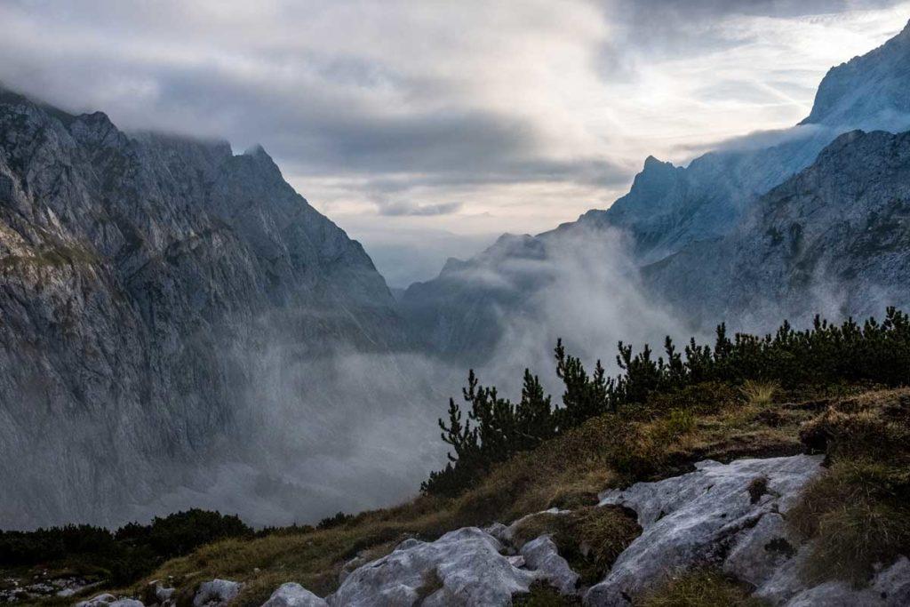 Über den Wolken - Aufstieg zur Zugspitze durch das Höllental