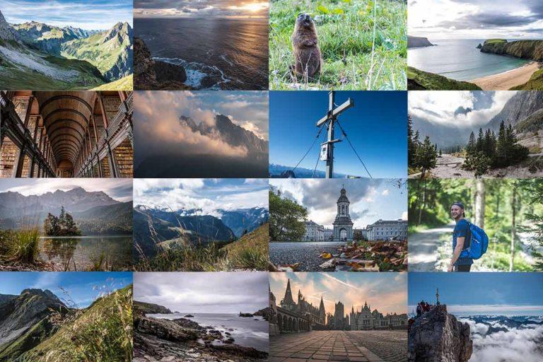 Trekkinglife Jahresrückblick 2019 Collage