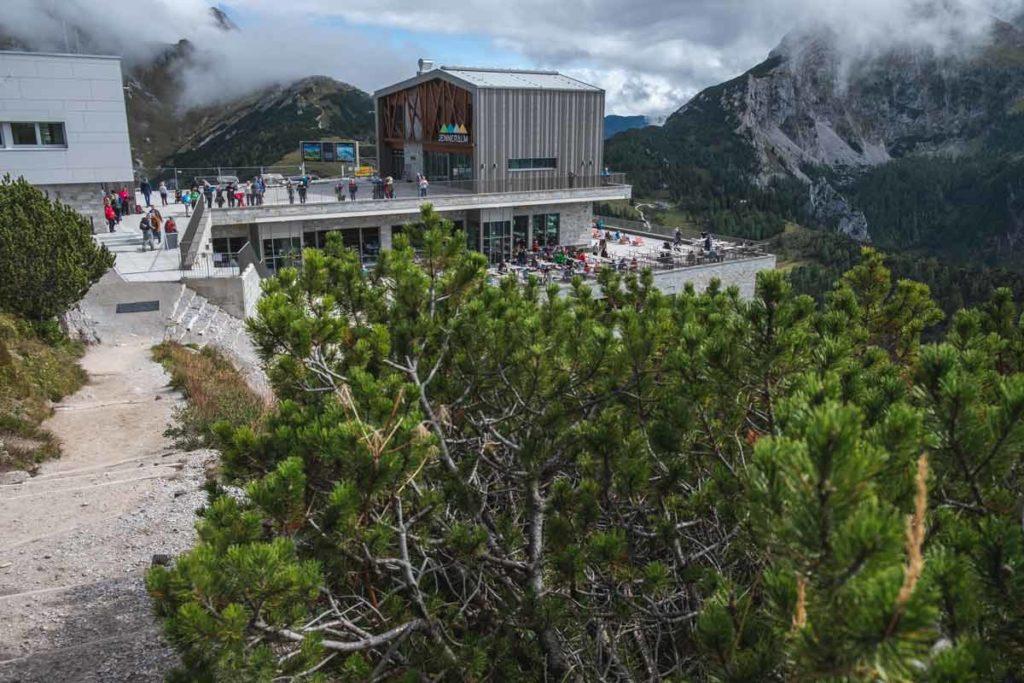 Jenner Seilbahn Bergstation
