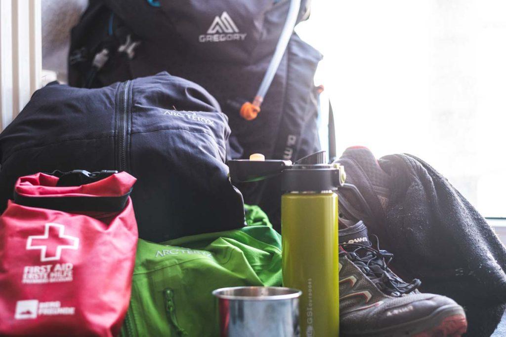 Packliste für Tageswanderungen - was muss rein in den Rucksack?