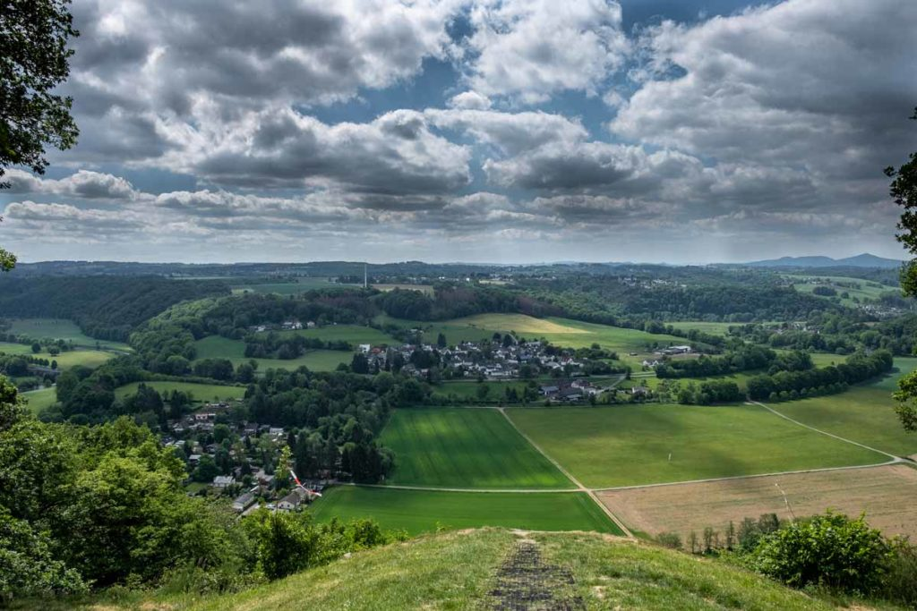 Aussicht auf Blankenburg