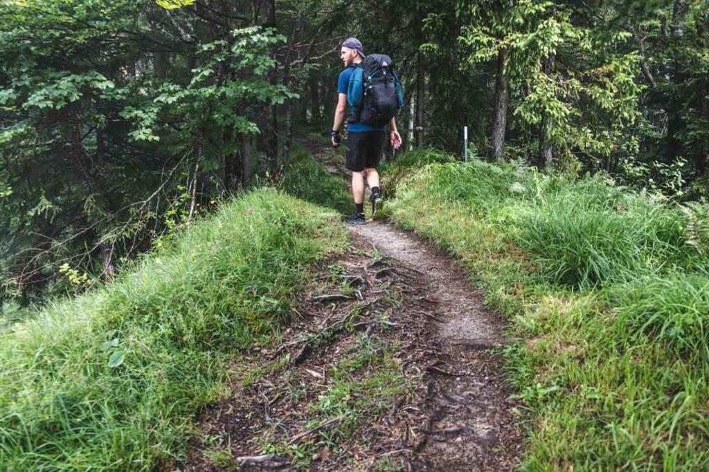 Wandern auf dem Niederkaiserkamm