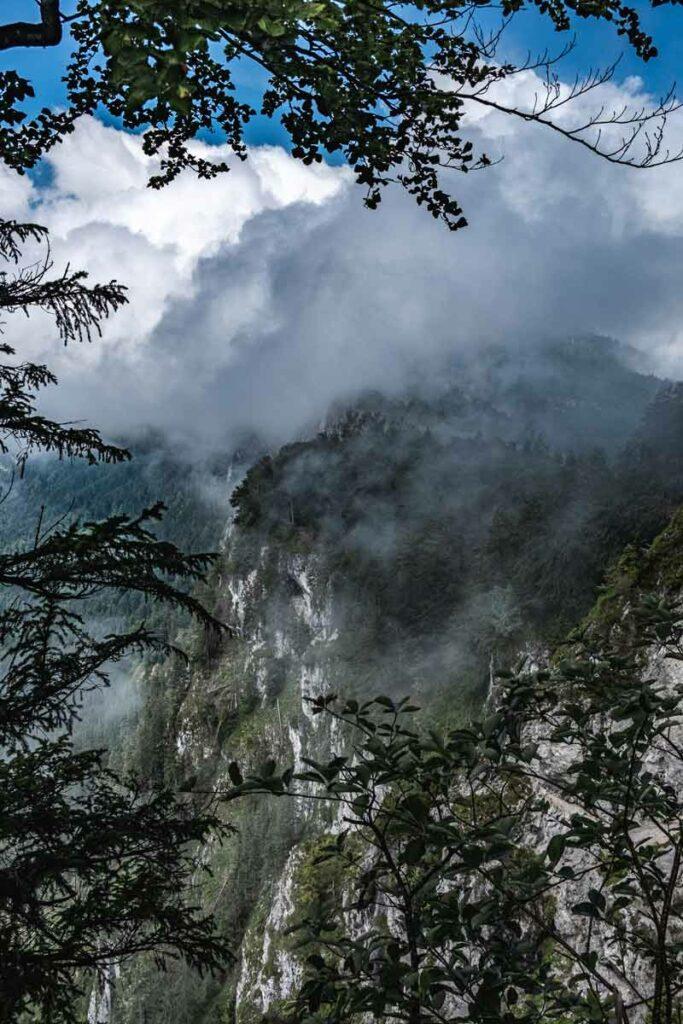 Der Wilde Kaiser in den Wolken