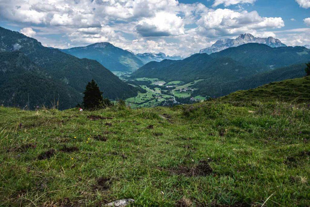 Blick auf die Kitzbüheler Alpen