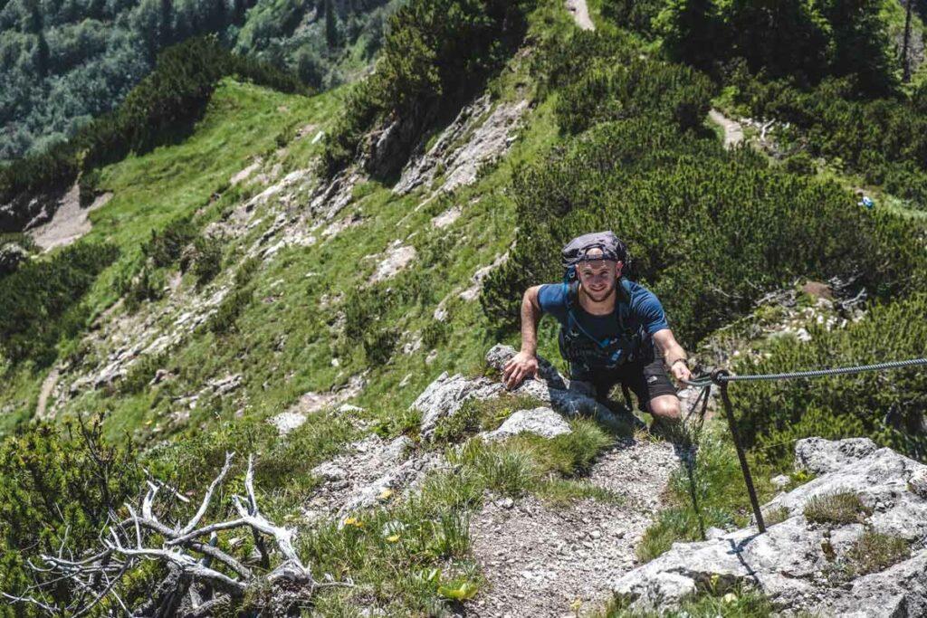 Klettern am Stripsenkopf